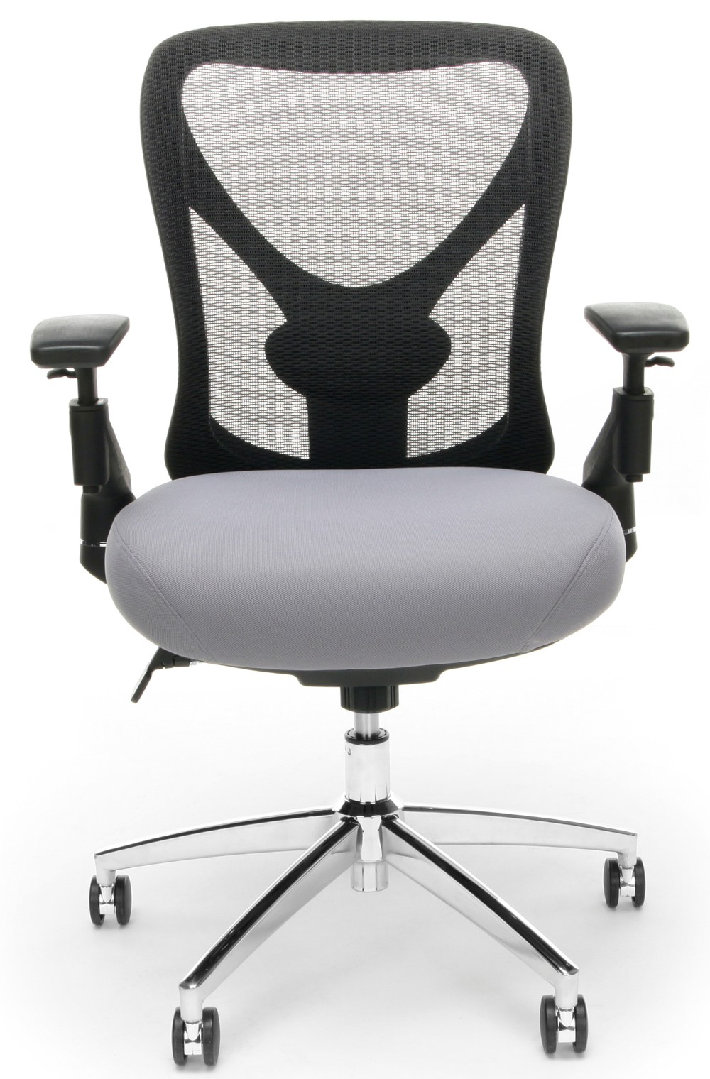 Ofm Stratus 24 Hour Big Tall Gray Mesh Chair 257 Gry