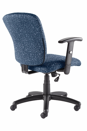 Talira Swivel / Tilt Task Chair with Adjustable Arms, Blue [TL200FBL]