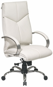 white leather executive chair. Pro Line II Top Grain White Leather Executive Office Chair [7270] G