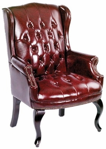 Traditional Queen Anne Style Chair [B809]