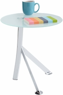 Vari� Accent Table Tempered Glass White [5096WH]