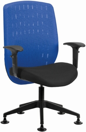 office guest chairs - vision mesh back office guest chair [655]