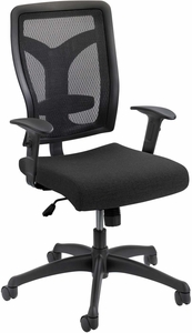 Voice™ Series Task Chair Mesh Back Black [5086BL]