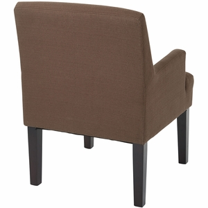 Work Smart™ Main Street Guest Chair Woven Chocolate [MST55-W11]