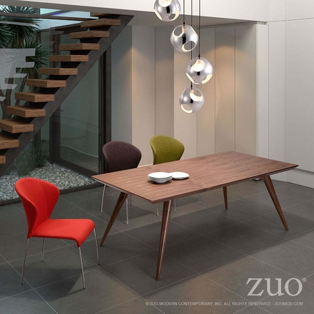 Zuo Stockholm Conference Table Walnut 100000