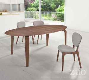 Zuo Virginia Key Conference Table Walnut 100099