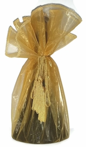 Cobalt Blue Mission Blend EVOO in a Sheer Gift Bag