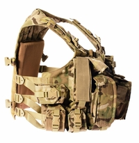 Agilite Hi-Vest & Attaching Modular Assault Pack Set