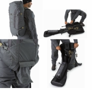2b0a4d305 A hybrid Assault/Patrol Pack capable of also carrying a carbine in a  concealed manner. A clamshell opening facilitates quick easy access into a  compartment ...