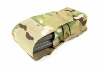 Blue Force Gear Helium Whisper Double M4 Mag Pouch with Flap - Fits AK and 7.62 Mags