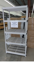Clearance Light Weight Plastic Shelving