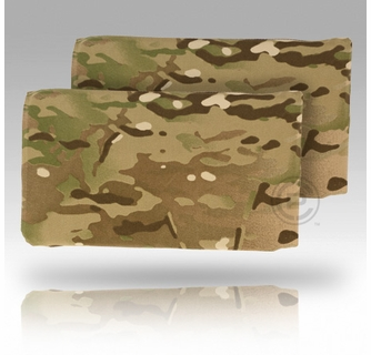 """Size 2 Crye Precision JPC Long Side Armor Plate Pouch Set 6/"""" x 11.5/"""" Coyote"""