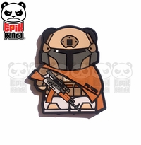 Epik Panda PMC Panda Desert Tactical PVC Patch