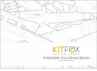 Kitfox Design Group Firearm Coloring Book: Service Weapon Edition