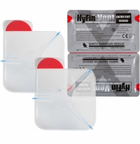 NAR Hyfin Vent Chest Seal - Full Size Model - Twin Pack