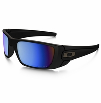 Oakley Fuel Cell Black - Deep Water Polarized Lens