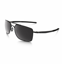 Oakley Gauge 8 Medium Matte Black - Prizm Black Polarized Lens