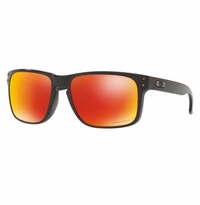 Oakley Holbrook Polished Black - Prizm Ruby Polarized Lens