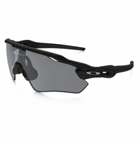 Oakley Radar EV Path Matte Black - Black Iridium Polarized Lens