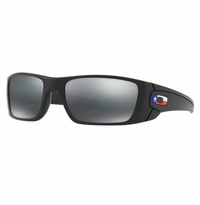 Oakley SI Fuel Cell Matte Black Texas Flag - Black Iridium Lens