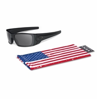 Oakley SI Fuel Cell Matte Black Tonal Flag - Grey Lens