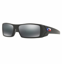 Oakley SI Gascan Matte Black Texas Flag - Black Iridium Lens