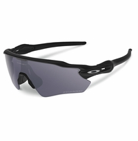 Oakley SI Radar EV Path Matte Black - Grey Polarized Lens
