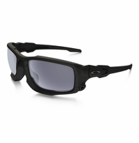 Oakley SI Ballistic Shocktube Matte Black - Grey Polarized Lens