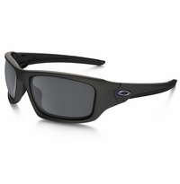Oakley SI Valve Thin Blue Line - Black Iridium Lens