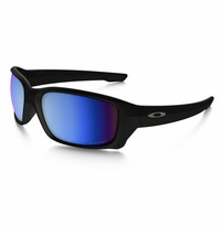 Oakley Straightlink Matte Black - Deep Water Polarized Lens