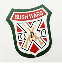 OPT Bush Wars Logo Sticker