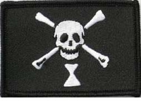 OPT Emanuel Wyne Pirate Flag Patch