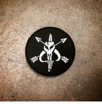 OPT Mandalorian SOF PVC Patch