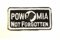 """Clearance OPT POW/ MIA  1"""" x 2"""" Patch"""