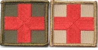 OPT Red Cross Patch