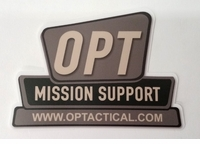 OPT Sign Logo Sticker
