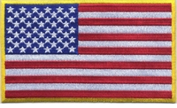 OPT US Flag Large Patch 3 x 5 inch