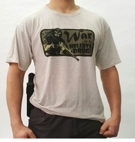Clearance OPT War Drug Logo T-Shirt - Light Weight Loose Fit