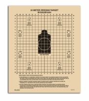 Rite in the Rain 25 Meter Zeroing Target  M16A2/M16A4