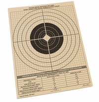 Rite in the Rain 9126 All-Weather 25 Meter Zeroing Target M4/Pistol