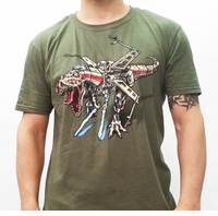 Road Sqdn T-Rex Wing Fighter T-Shirt