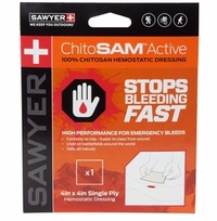 Sawyer ChitoSAM Active 4x4in Single Ply