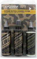 SLiP2000 Extreme TACTICAL Cleaning System 4oz. 3 Pack
