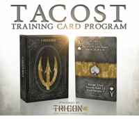 Trident Concepts TACOST Training Card Set - Pistol 1