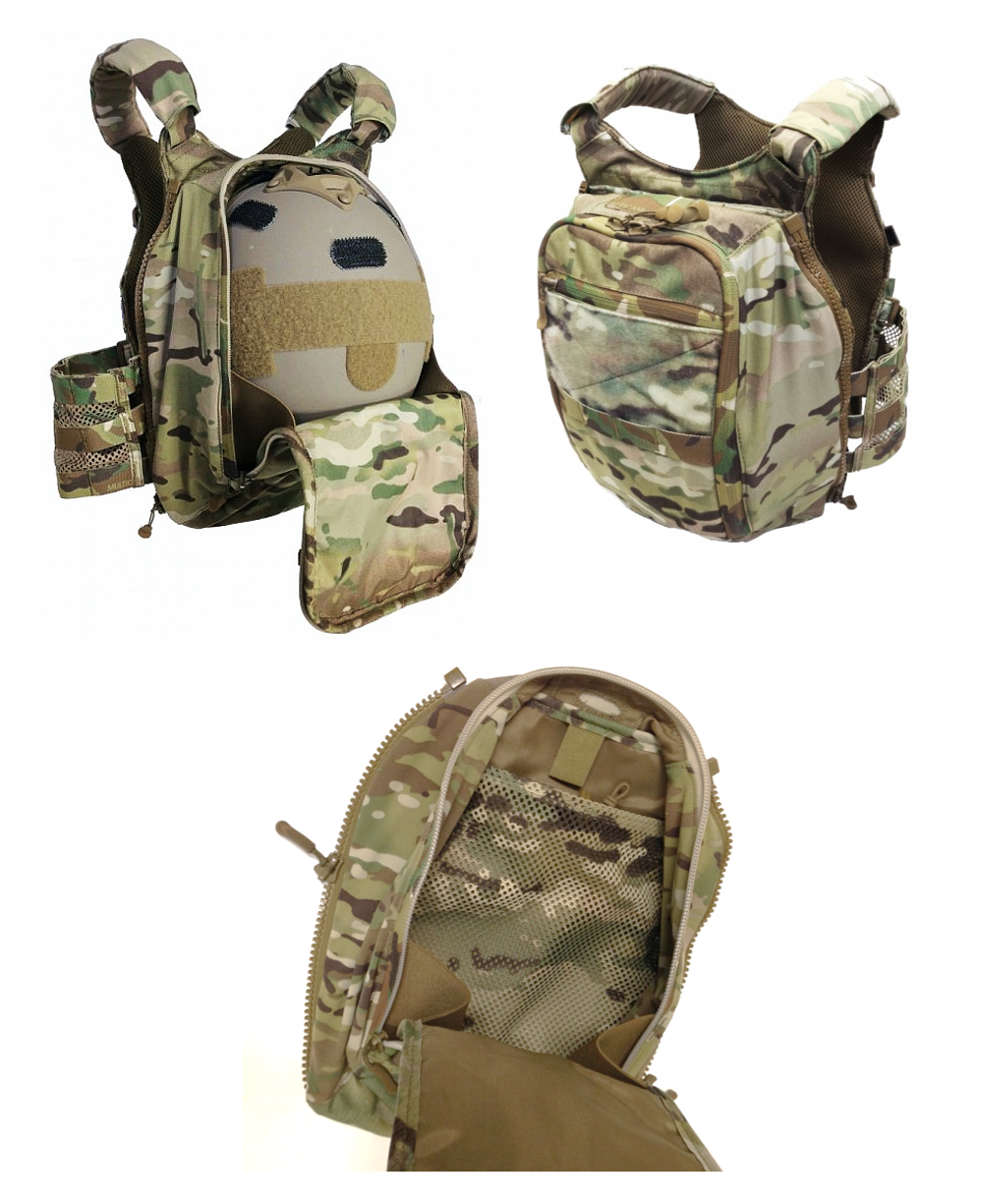 Velocity Systems Scarab Lt Zip On Back Panel