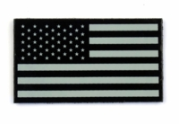 Warrior GloTape Infrared IR US Flag Patch (R)