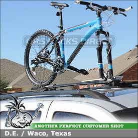 2004 Jeep Grand Cherokee Overland Factory Rack Mount Bike Rack