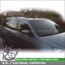 2005 Honda Odyssey Roof Rack with Yakima LowRider Car Rack System