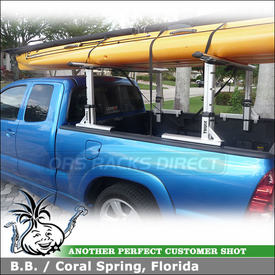 2005 Toyota Tacoma X-Runner Pickup Truck Rack with Thule 422XT Xsporter & XK1 Adapter Kit