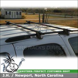 2006 Chevrolet Tahoe Z71 Roof Rack Cross Bars for Factory Side Rails